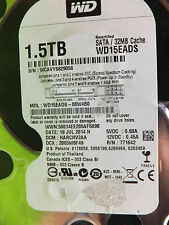 Western Digital 1,5 TB WD15EADS-00W4B0 DCM:HANCNV2AA | 19JUL2014 | disco rigido