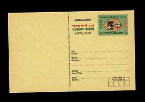 Bangladesh 2007 - Scout centenary pre-paid postal card, unused