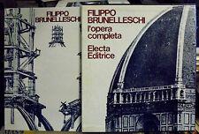 FILIPPO BRUNELLESCHI. Battisti. Electa. 1976. SLB