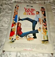 Yours, Mine & Ours Original US One Sheet Movie Cinema Poster 2005 Dennis Quaid