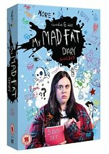 My Mad Fat Diary Series 1 - 3 (DVD)~~~~Sharon Rooney~~~~NEW & SEALED