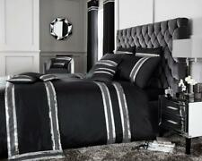 NEW LUXURY  DIVA DUVET COVER & CURTAIN SET VARIOUS SIZES & COLOURS AVAILABLE