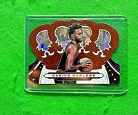 DARIUS GARLAND PRIZM ROOKIE CLEVELAND CAVALIERS 2019-20 CROWN ROYALE BASKETBALL