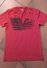 Tee shirt homme-  Manches courtes -  Coton rouge - ENERGIE -  Taille  X L