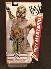 Rey Mysterio 619 Signed Figure Toy WWE Superstar Wrestling Hof