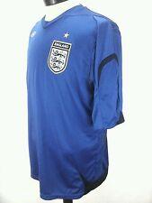 England Soccer Football National Team Official Umbro Jersey Blue US XL GB XL