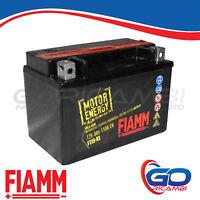 BATTERIA MOTO FIAMM AGM FTX9-BS 12V 8Ah CON LIQUIDO (CORR.YUASA = YTX9-BS)