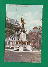 CANADA MAISONNEUVE MONUMENT MONTREAL VINTAGE PC. 5353