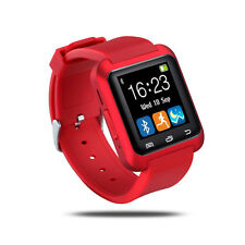 U80Hot Smart Watch for Android Smartphones&iPhone Support Sync Call Messager RED