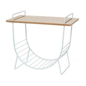 4LIVING Table with Magazine Holder