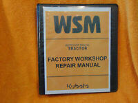 KUBOTA F2100 mower TRACTOR SERVICE REPAIR  Workshop manual Binder