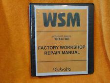 Kubota B7300 Tractor Service Repair Amp Parts Workshop Manual Binder