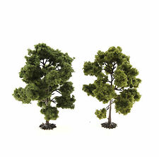 Jordan Modellbau - H0: 2 Laubbäume, je ca. 11 cm - NEU + OVP (JO 5B)