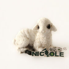 R1502 Nicole 3D Sheep Handmade Resin,Clay Crafts Mold Candle Soap Silicone Molds
