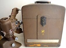 Vintage 1940's Bell & Howell Filmo Diplomat 16mm Film Projector - Made in U.S.A.