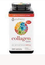 Youtheory Collagen+biotin Advanced Formula 390 Tablets 6.000 mg X 2 BOTTLES