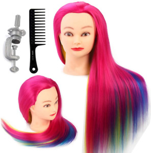 Neverland Training Head 26''-28''Hairdressing Mannequin Styling Doll Head 100%
