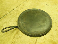 "antique Cast Iron GRISWOLD cooking Griddle #9 - marked 609 - 11"" diameter"