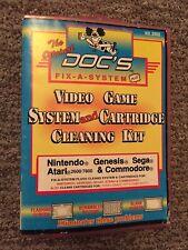 Original DOC's FIX A SYSTEM + Genesis Nintendo NES Atari Cammodore -Super Rare