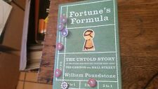 Fortune's Formula The Untold Story of the Scientific Betting System That Beat