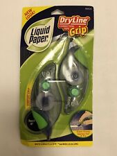 Liquid Paper Dry Line White Correction Tape Grip (2 In Pack)