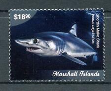 Marshall Islands 2018 MNH Marine Life Definitives Pt II 1v Set Sharks Stamps