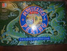 Mysteries of Old Peking Detective Board Game Replacement Parts Cards & Counters