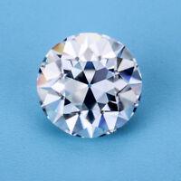 OEC 7.5mm 1.5 carat Round Old European Cut G-H Color VVS Moissanite Loose Stone