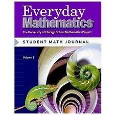 Everyday Mathematics 6th Grade Level 6 Student Math Journal, Vol. 1 Brand New!!
