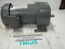 Dayton inline gearmotor 4Z393, 135rpm, 12.7:1, 1/2hp, 230/460, TEFC, 3ph, 133rpm