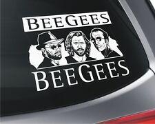 Bee Gees x2 Car Window Vinyl Stickers _ Music _ Pop Band
