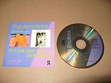 The Emotions So I Can Love You/Untouched cd 22 track 1990 Ex/Near Mint Condition
