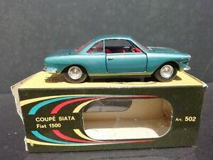Vintage - COUPE' SIATA FIAT 1500 - 1:43 POLITOYS M 502  Eccellente / Excellent