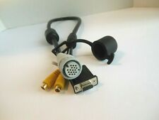 Genuine Garmin GPS Marine Plotter Fish Finder Video In Aux Cable Cord Set OEM