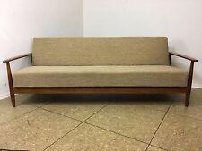60er 70er Jahre Teak Sofa Daybed Schlafsofa Danish Modern Design Denmark 60s 70s