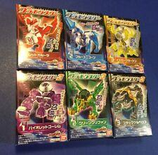 Kamen Rider Wizard Candy Toy Plamonsters Rare Set Lot