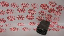 Vintage Tripple AAA Service Oil Printing Block Sign Gas Station Oil Display