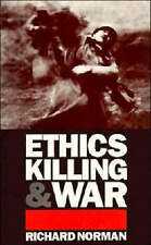Ethics, Killing and War, Norman, Richard, Very Good condition, Book