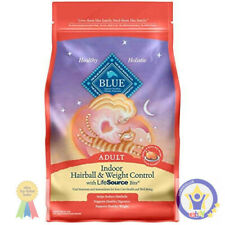 Blue Buffalo Indoor Hairball & Weight Control Natural Adult Dry Cat Food,