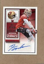 dres anderson sf 49ers rc auto card 2015 contenders 175