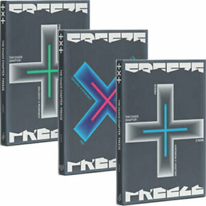 TXT [THE CHAOS CHAPTER:FREEZE] Album 3 Ver SET 3CD+3 Buch+3 Foto Karte+3 Poster