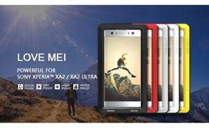LOVE MEI Shockproof Dustproof Metal Case Cover 4 Sony Xperia XA2/ XA2 Ultra (UK)
