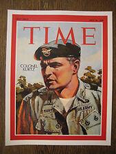 "Time Magazine 1968 Colonel Kurtz Cover Poster - Print -  8"" x 11'' - B2G1F"