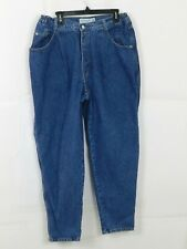 Vintage Gloria Vanderbilt Womens Elastic Waist Jeans Size 20W Blue