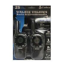 Cobra SH360 BK Walkie Talkies 25 Mile Range Weather & Emergency Radio micro TALK