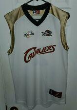 NBA Majestic 2007 Cleveland Cavs Cavaliers Finals Jersey Lebron James Sz L