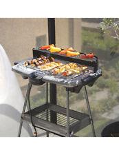 Barbecue sur pieds et gril de table électrique Gris