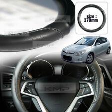 Carbon Steering Wheel Cover Glossy Urethan 370mm for HYUNDAI 2008-12 Elantra i30