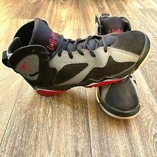Air Jordan 7 Retro Size 8.5Y Basketball Shoes 442960 008 Black Fuchsia Flash
