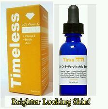 Timeless Skin Care  Ferulic Acid, Vit C & E,Younger Brighter Looking Skin 1oz